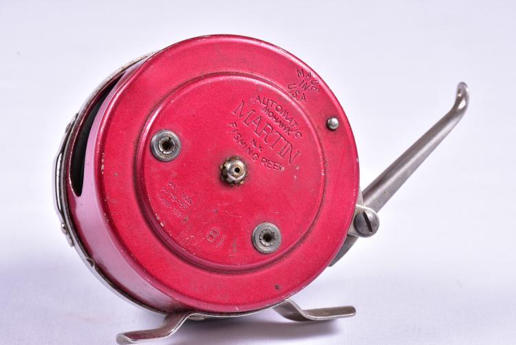 Vintage automatic mohawk martin fishing reel for Automatic fishing reel