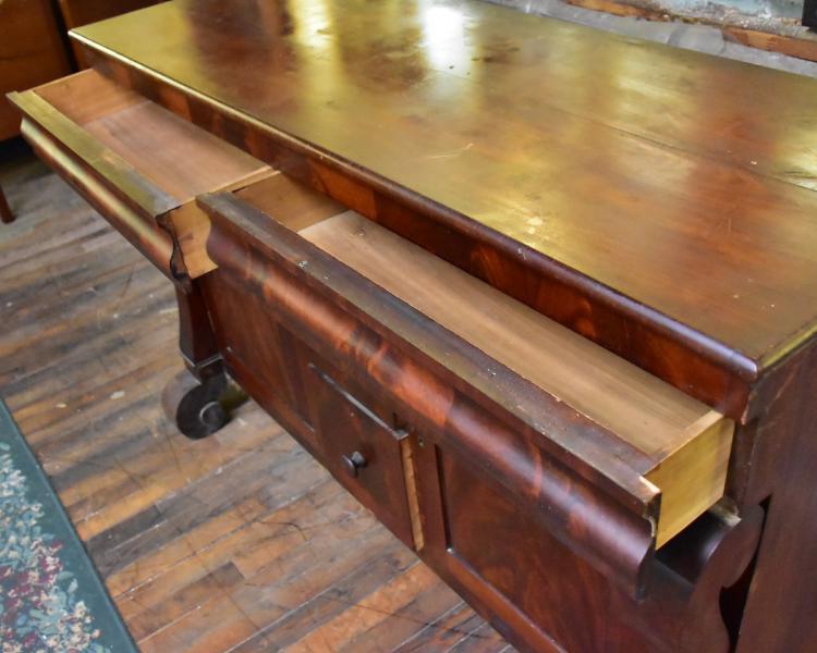 Vintage Solid Wood Credenza