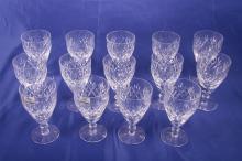 14 Royal Doulton Wine Glasses