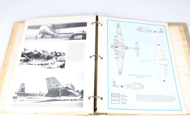 the official monogram painting guide to german aircraft 1935