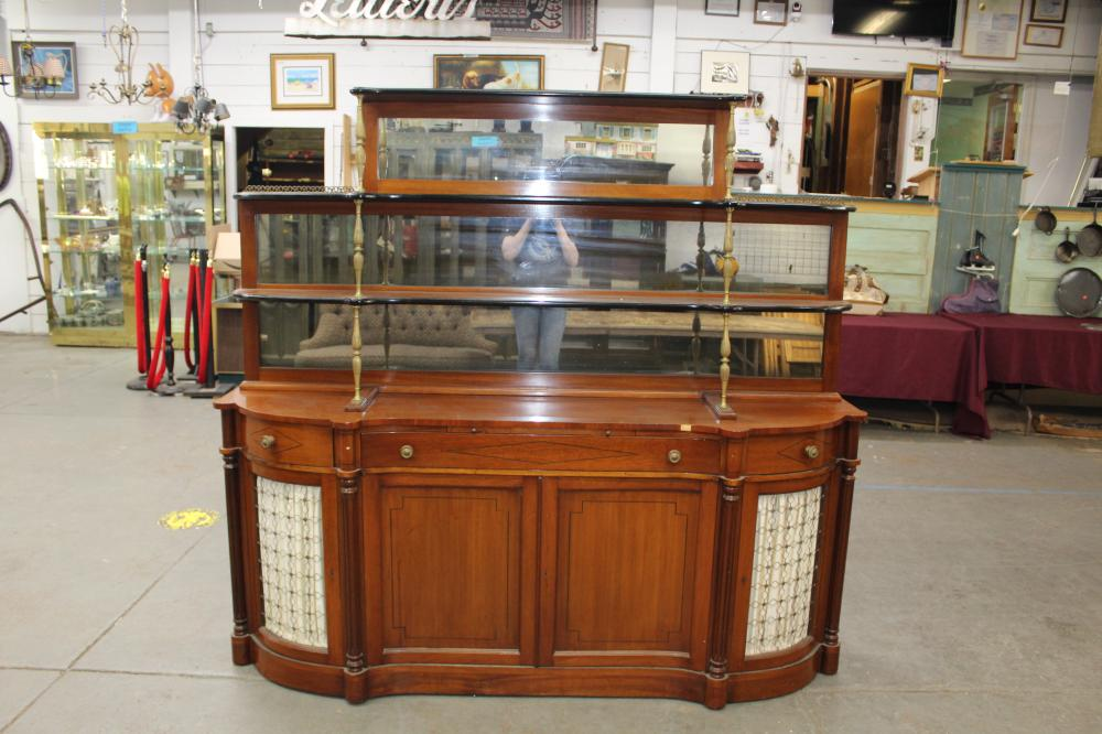 Art Deco Sideboard With Shelves