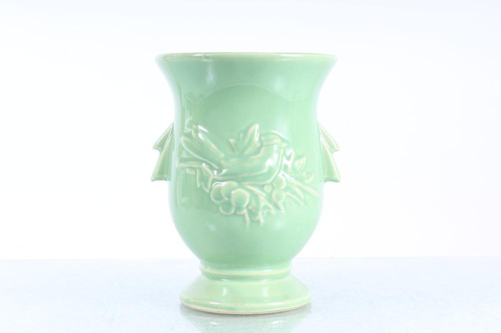 McCoy Urn - Vase with Bird and Berries Motif