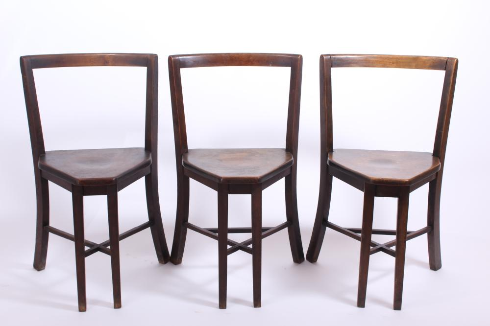 Frank Rieder & Sons Ice Cream Table with Three Chairs