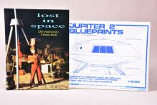 Lost in Space Book and Jupiter 2 Blueprints