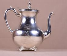 Solid Sterling Silver Coffee Pot