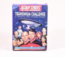 Star Trek The Transinium Challenge Software Game on Floppy Disks