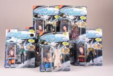 Lot of 7 Star Trek The Next Generation Collector Card Action Figures