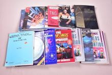 Lot of 14 Star Trek Books and Companions