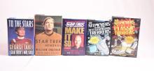 Lot of 5 Star Trek Related Books