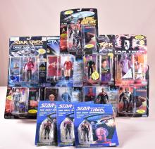 Lot of 12 Star Trek Action Figures