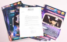 Star Trek Universe Newfield Publications Correction Cards Atlas Editions