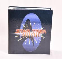 Star Trek Universe Newfield Publications Binder and Cards Atlas Editions
