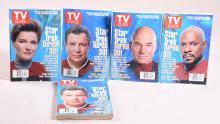 Lot of 5 Star Trek TV Guides