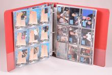Binder With Star Trek Skybox Trading Cards