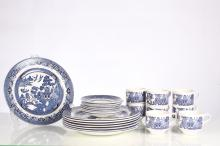 Lot of 24 Curchill China