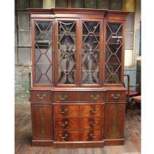 Vintage Curio Cabinet, Secretary