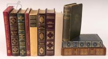 11 Pc. Easton Press Charles Dickens Book Lot