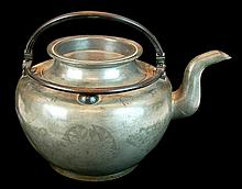 Chinese Pewter Teapot