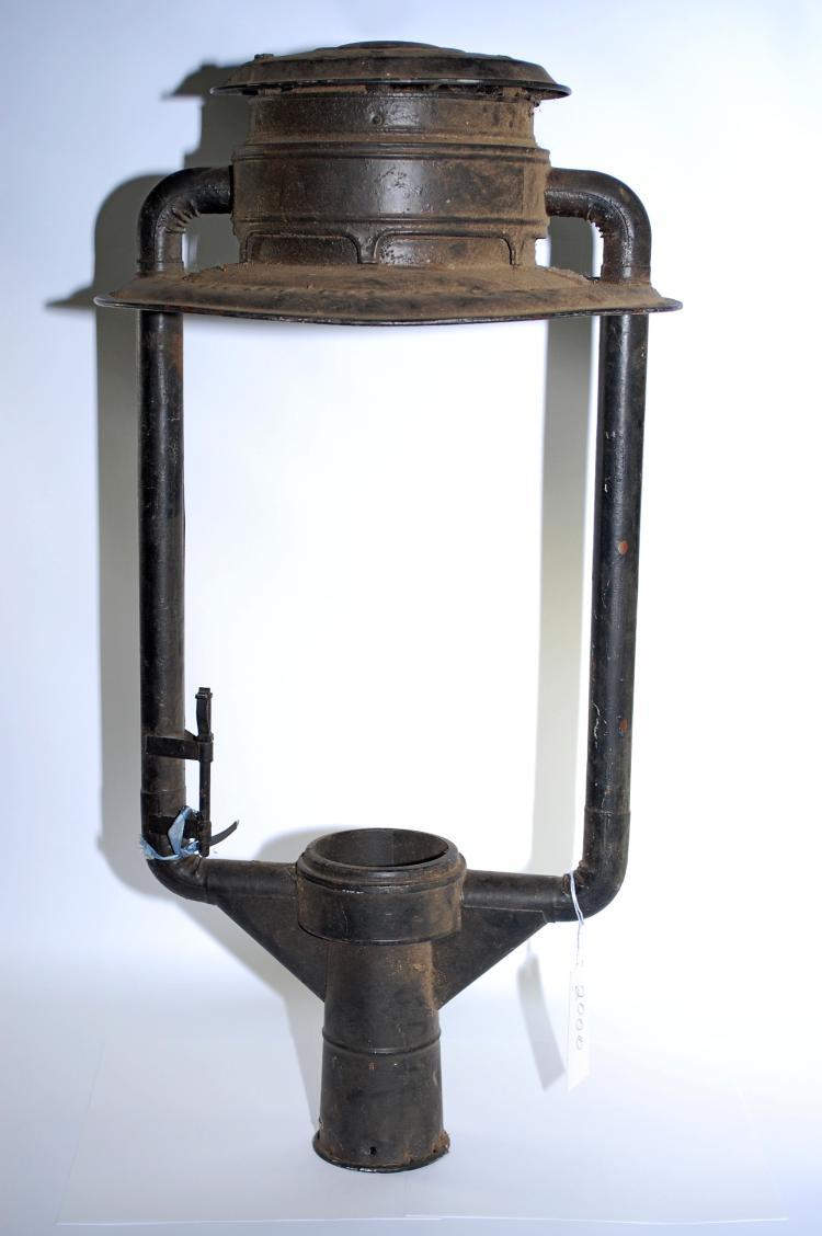 1886 CF Ham Mfg Co S Globe Street Light Housing