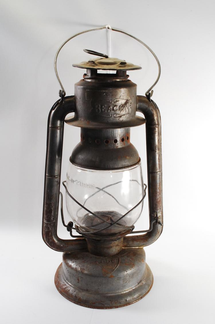 Antique GSW Beacon Oil Lamp Lantern
