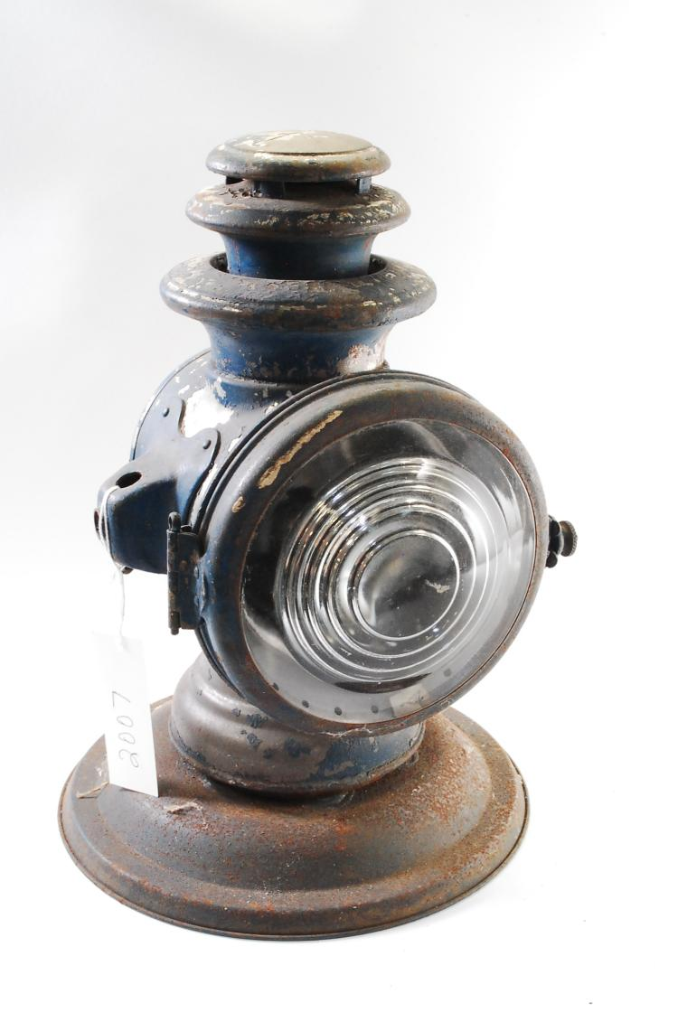 Patented 1907 Dietz New York Champion Steel Oil Lamp