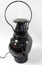 1906 Adlake Lamp 2 Way Red Lense Railroad Lantern