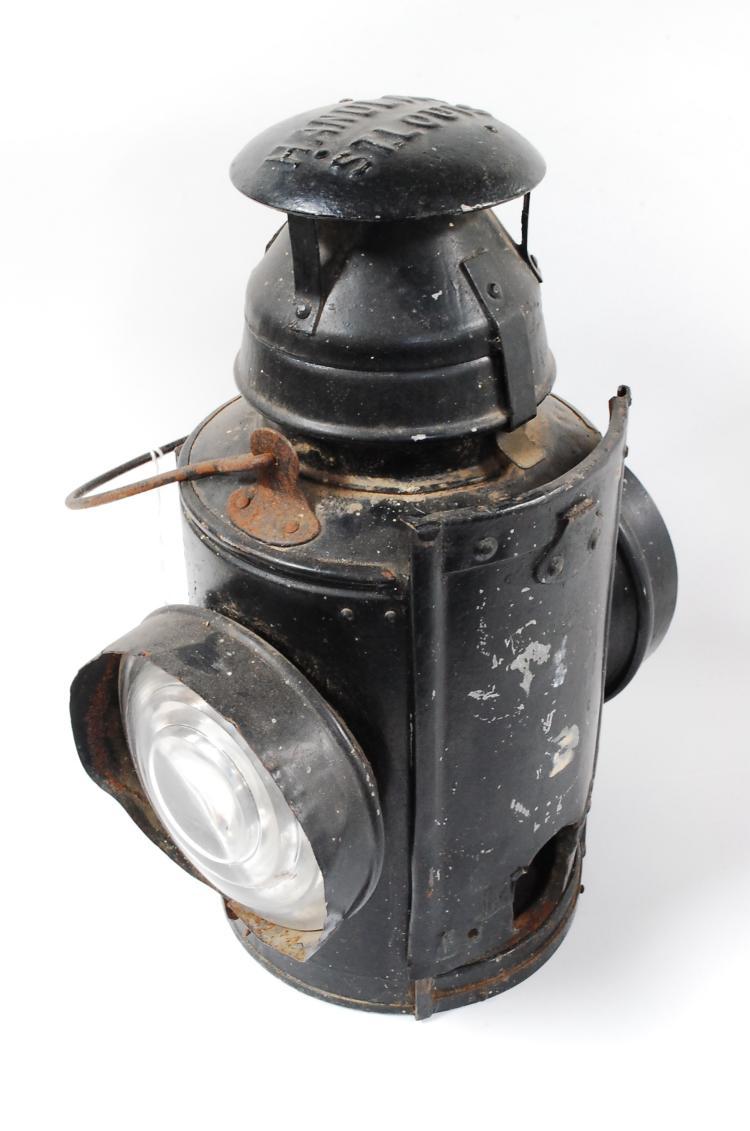 Antique Handlan St Louis  Railroad Lantern