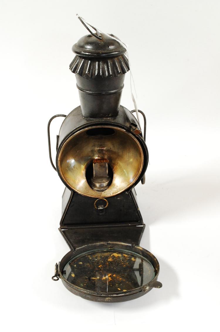 1878 A Ferguson Thos.J.Conroy Sole Agent  Spotlight Lantern