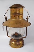 John Scott Brass Pullman Silver Palace Car Co Railraod Lantern