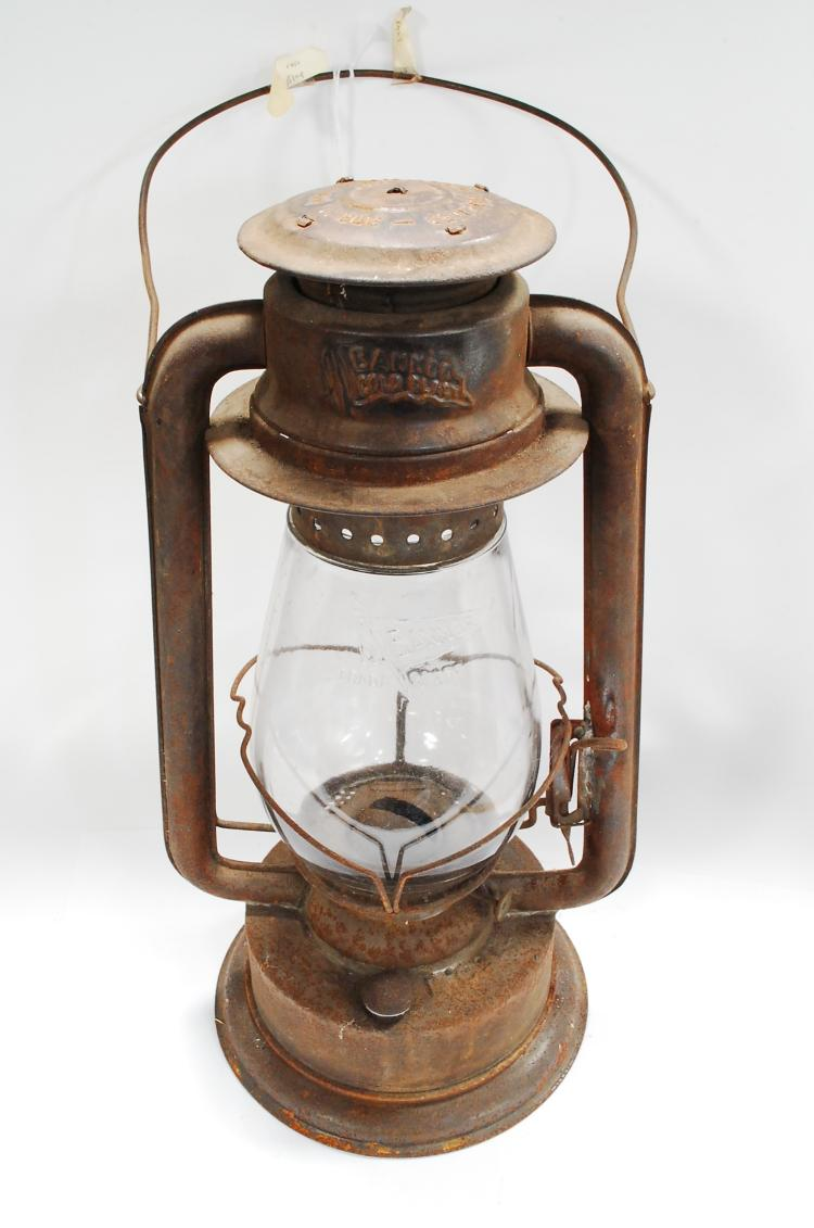 1906 Banner Cold Blast OL&L Co Ltd Gas Lantern