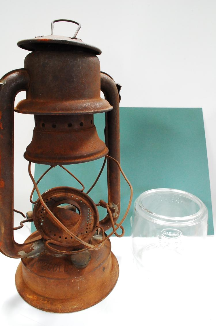 Antique Pagoma No 2 Cold Blast Kerosene Lantern