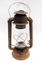 Antique Dietz No 2 Blizzard Kerosene Barn Lantern