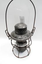 Antique Adlake Kero DM&IRy Railroad Lantern