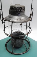 1912 Adlake Pennsylvania Lines Tall Embossed Matching Globe Railroad Lantern