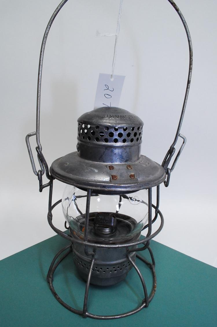 Antique Adlake Kero C&NWRy Railroad Lantern