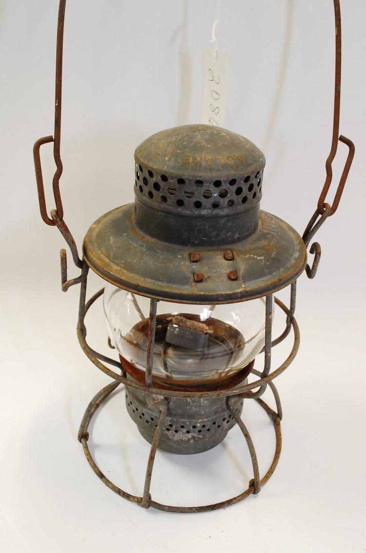 Antique Adlake NYSC Railroad Lantern