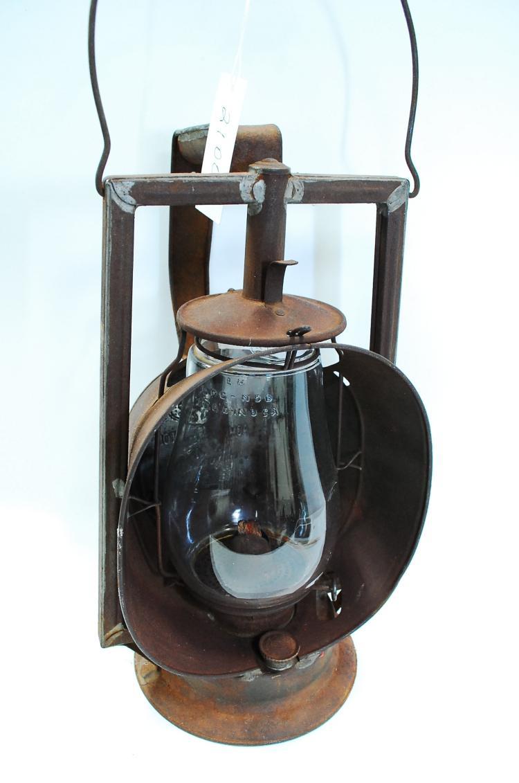 Antique Dietz Acme T&P Railroad Inspector Lamp