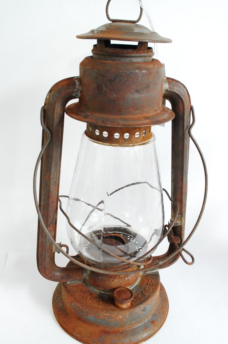 Antique Paulls Leader Number 2 Cold Blast Barn Lantern