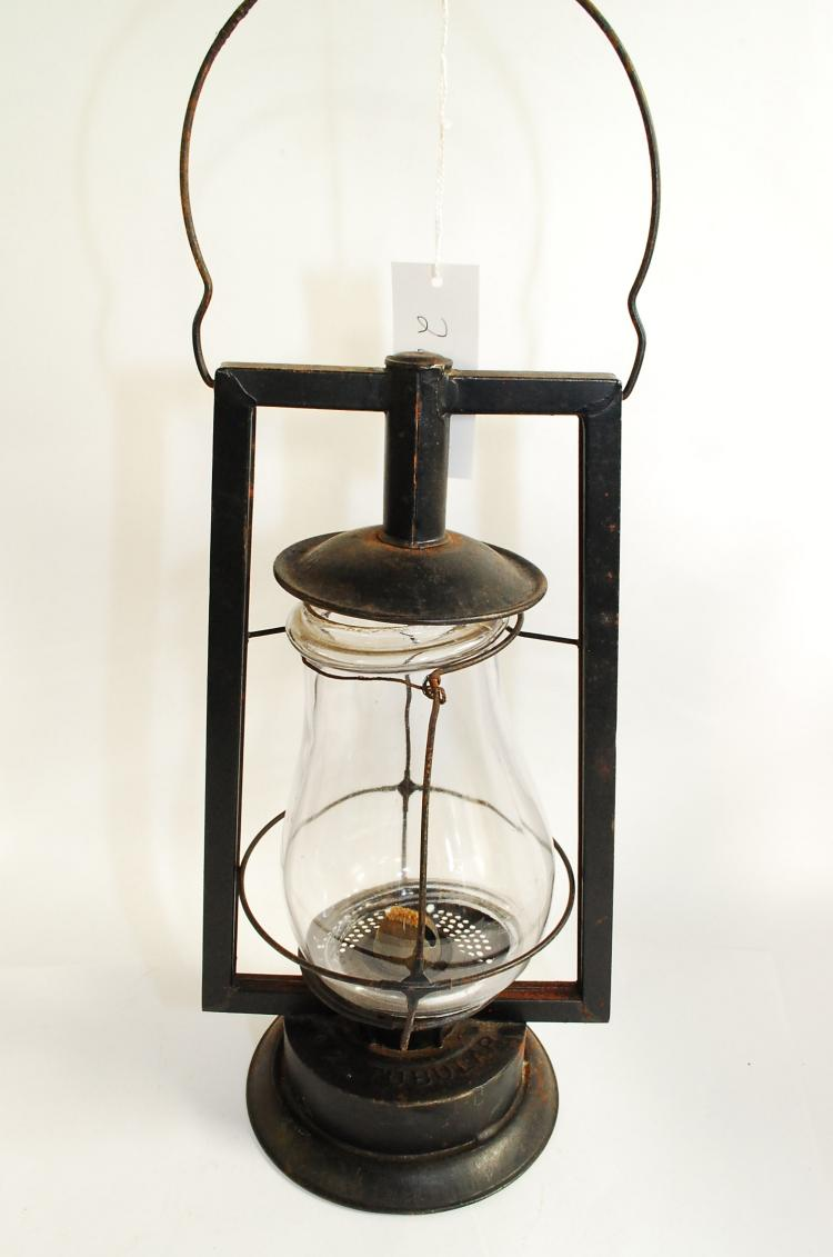Antique Dietz Number 0 Ok Tubular Barn Lantern