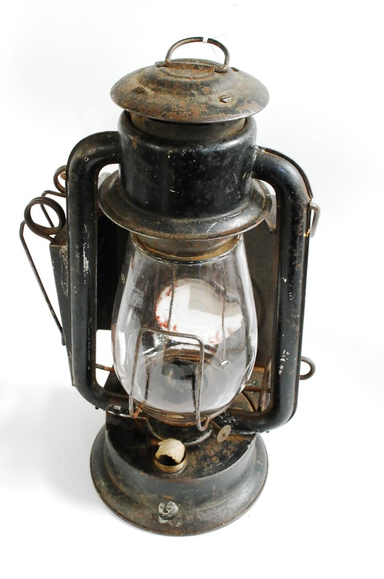 Antique Rail Number 21 Street Or Railroad Inspectors Lantern