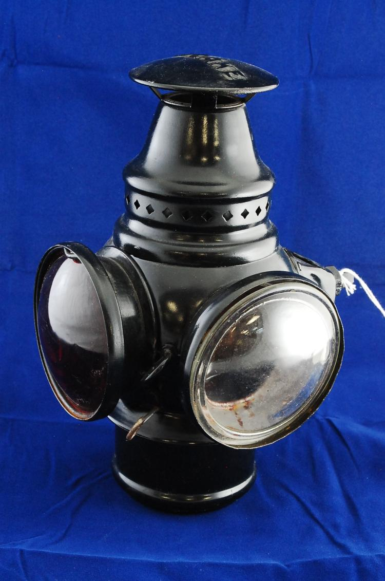 Antique Adlake Carriage Buggy Or Early Automobile Oil Lantern