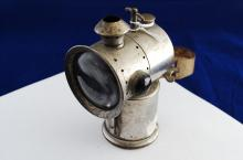 1899 Sanford And Pollow Co Solitaire Bicycle Oil Lamp Lantern