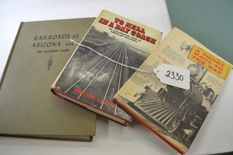 Lot Of 3 Vintage Railroad Books