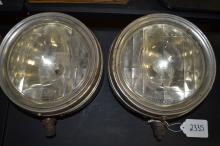 Antique Liberty Lens Macbeth Evans Glass Company Early Automobile Headlamps