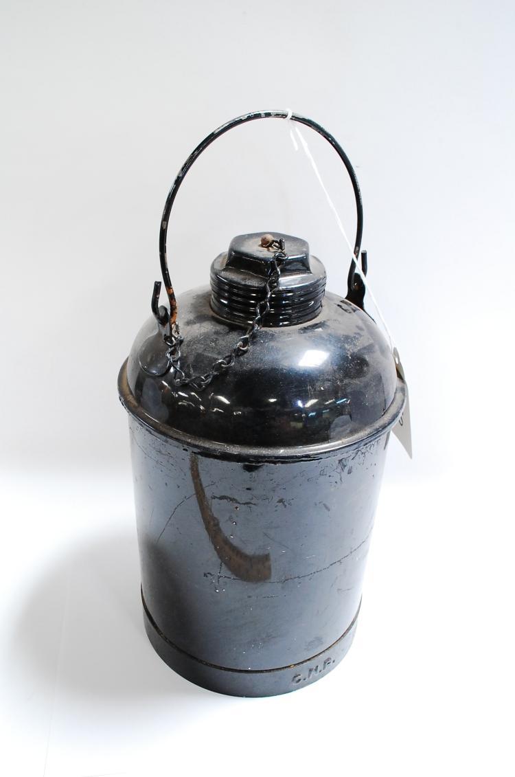 Antique C&R Railroad Kerosene Fuel Can