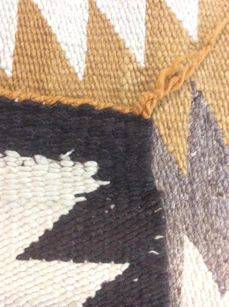 Hand Woven Navajo Rug Lot 7