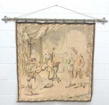 French Music Lesson Tapestry