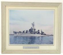 Vintage USS Sullivans Battle Ship Photo
