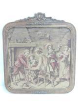 Vintage Gambling Musketeers Tapestry