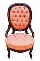 Victorian Demi-Arm Chair